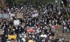 Διαδήλωση για τη δολοφονία του Τζορτζ Φλόιντ (AP Photo/Rick Rycroft)