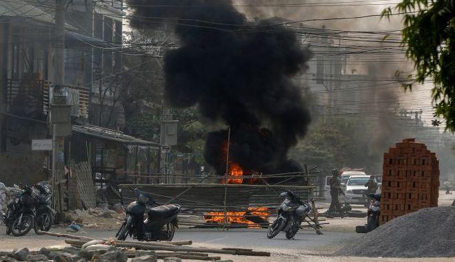 Ταραχές στη Μιανμάρ