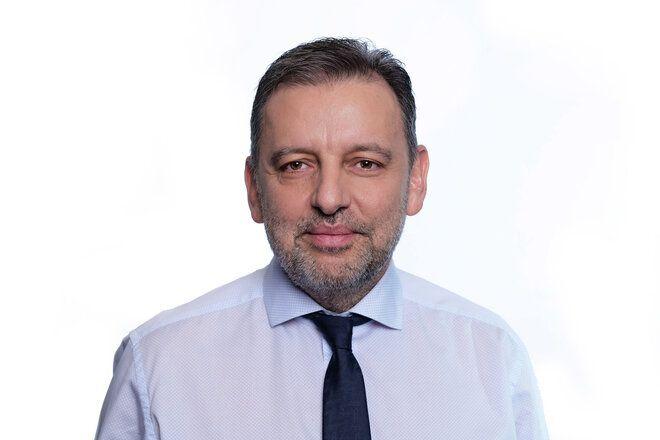 O πρόεδρος και διευθύνων σύμβουλος της Vodafone Ελλάδας, Χάρης Μπρουμίδης.