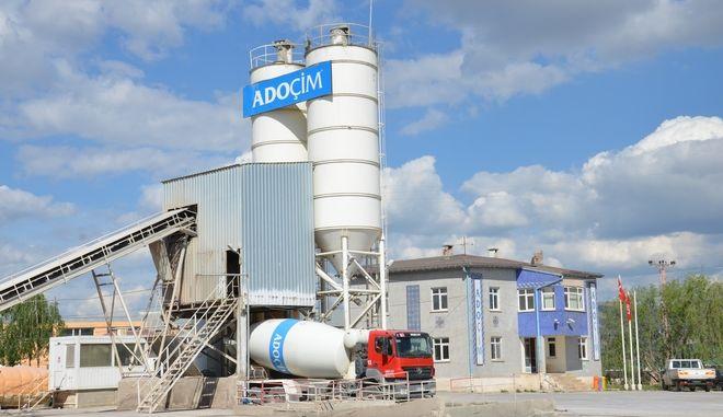 Μονάδα παραγωγής της Adocim, θυγατρικής του Τιτάνα στην Τουρκία