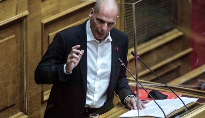 """Ο Γιάνης Βαρουφάκης στην συζήτηση σχεδίου νόμου του Υπουργείου Οικονομικών """"Κύρωση του Κρατικού Προϋπολογισμού οικονομικού έτους 2021"""""""