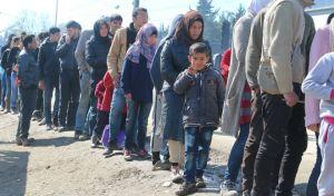 Διαμαρτυρία προσφύγων στο κέντρο φιλοξενίας Διαβατών