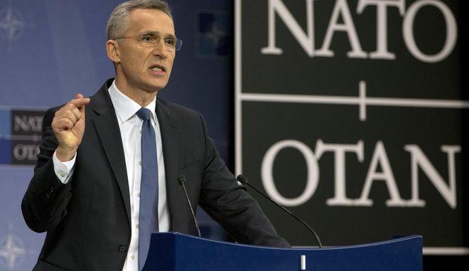O Γενικός Γραμματέας του ΝΑΤΟ, ΓΕΝΣ Στόλτενμπεργκ