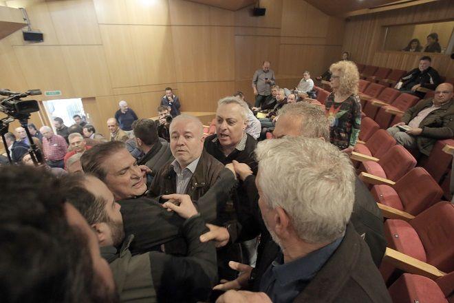 ΓΣΕΕ: Νέα ένταση με μέλη του ΠΑΜΕ στη συνεδρίαση της Ολομέλειας