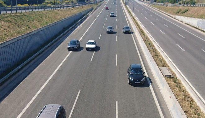 Εικόνα από εθνική οδό