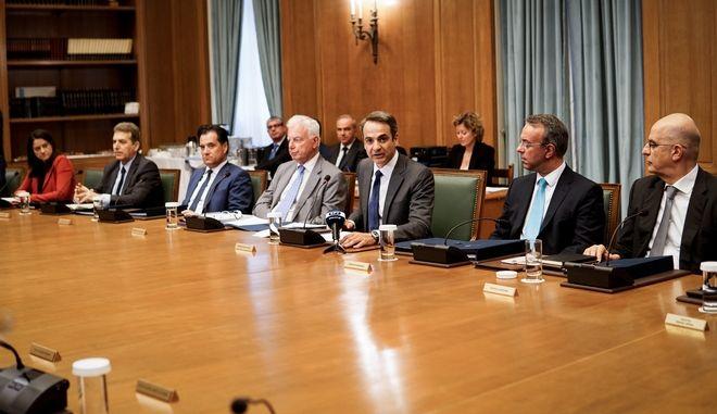 Συνεδρίαση του υπουργικού συμβουλίου την Τετάρτη 10 Ιουλίου 2019