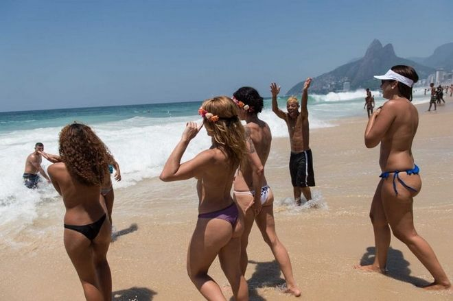 Νόμος είναι το δίκιο του Topless. Οι Βραζιλιάνες επαναστατούν