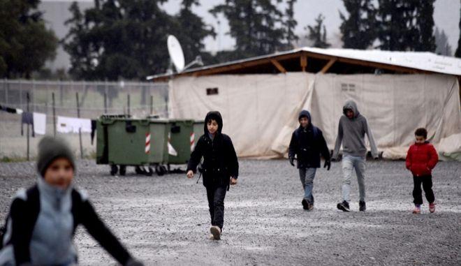 Ανήλικοι πρόσφυγες σε δομή (Αρχείου)