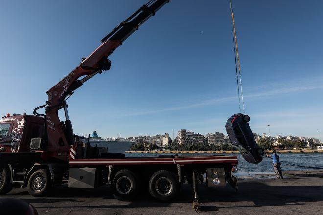 Πειραιάς: Αυτοκίνητο έπεσε στη θάλασσα - Νεκρός ανασύρθηκε ο οδηγός