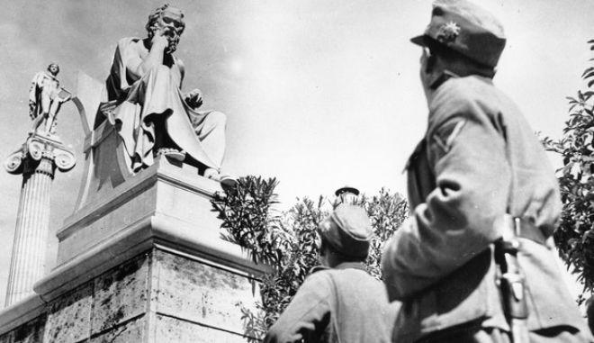 Φωτό αρχείου: Γερμανοί στρατιώτες στην Αθήνα, 15 Ιουνίου 1941