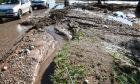 Καταστροφές στην Κινέτα, από τα έντονα καιρικά φαινόμενα