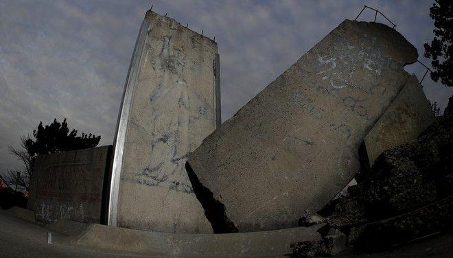 Βερολίνο, 2019: Τμήμα από το τείχος του Βερολίνου