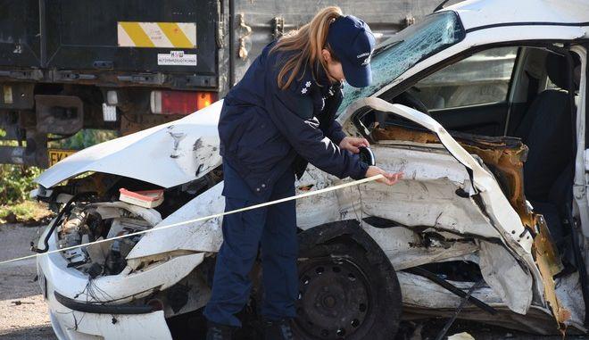 Τροχαίο δυστύχημα - Φωτογραφία αρχείου