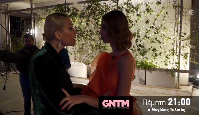 """GNTM: Η Καγιά ταρακούνησε την Άννα Μαρία: """"Δεν θα πετάξεις τη ζωή σου στον δρόμο"""""""