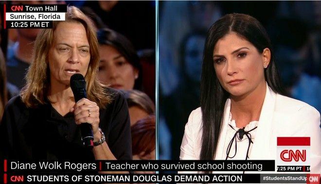 Η Dana Loesch θα σε βγάλει από τα ρούχα σου
