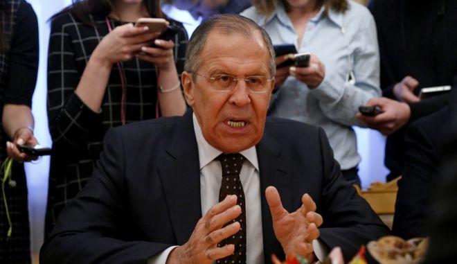 O Ρώσος υπουργός Εξωτερικών