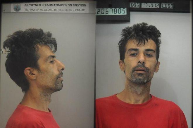 Εξιχνίαση υπόθεσης απαγωγής 26χρονου ημεδαπού. Στη φωτογραφία ο Βασίλειος Ταμπακάκης. Η φωτογραφία και τα στοιχεία του κατηγορουμένου δόθηκαν στην δημοσιότητα με σχετική Διάταξη της Εισαγγελίας Πρωτοδικών Αθηνών. (EUROKINISSI/ΓΡΑΦΕΙΟ ΤΥΠΟΥ ΓΑΔΑ)