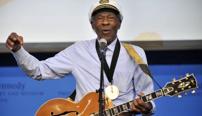 Πέθανε ο θρύλος της ροκ Chuck Berry