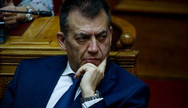 Ο υπουργός Εργασίας Γιάννης Βρούτσης