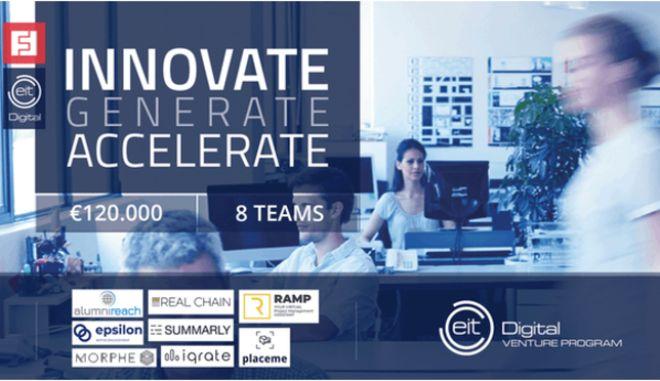 EIT Digital Venture Program: 120.000 ευρώ το 2019 σε 8 startups
