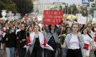Διαδήλωση στη Λευκορωσία κατά του Λουκασένκο