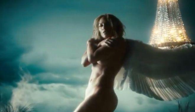 """Γυμνός άγγελος η Τζένιφερ Λόπεζ στο νέο της βίντεο κλιπ """"In the morning"""""""