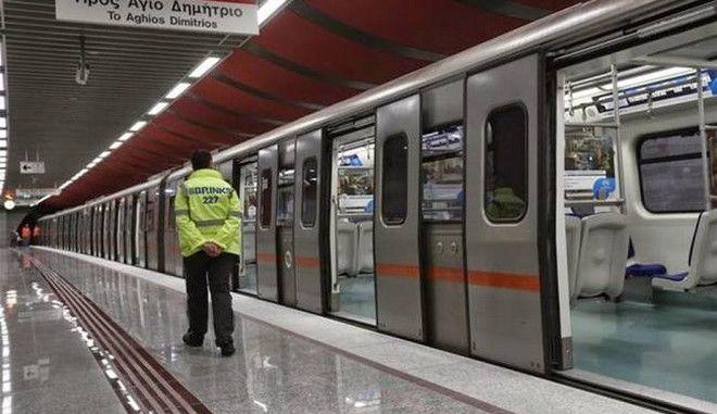 Κλειστοί τέσσερις σταθμοί του μετρό το Σαββατοκύριακο