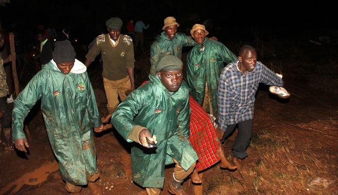 Φωτογραφία από τις πλημμύρες στην Κένυα
