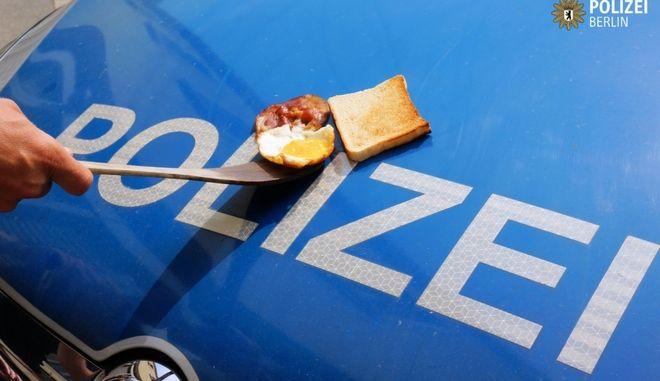 Καύσωνας: Στη Γερμανία οι αστυνομικοί τηγανίζουν πάνω στα περιπολικά