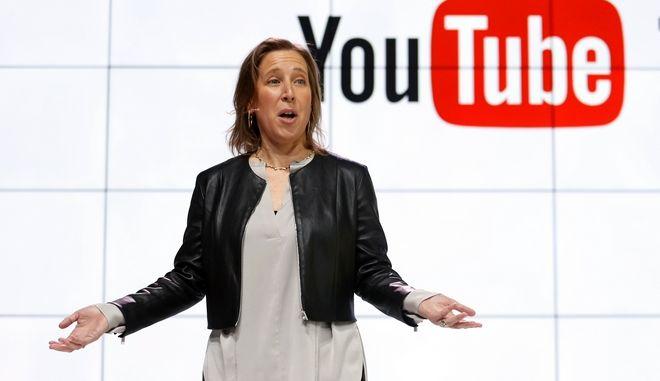 Η CEO του YouTube CEO Susan Wojcicki (AP Photo/Reed Saxon, File)