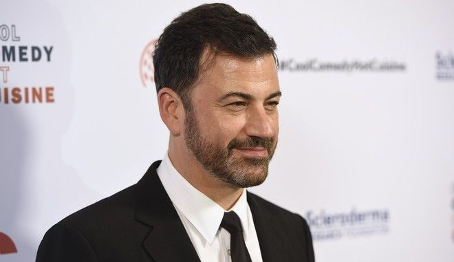 Jimmy Kimmel attends the 30th annual Scleroderma Foundation Benefit at the Beverly Wilshire hotel on Friday, June 16, 2017, in Beverly Hills, Calif. (Photo by Chris Pizzello/Invision/AP)