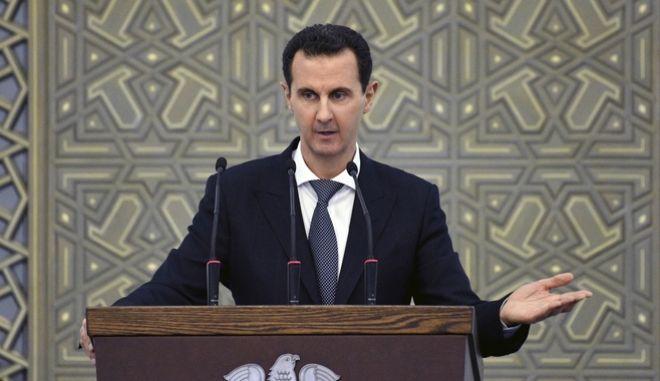 Ο Σύριος πρόεδρος Άσαντ