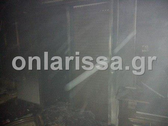 Λάρισα: Στο νοσοκομείο 3χρονο αγοράκι μετά από φωτιά σε διαμέρισμα