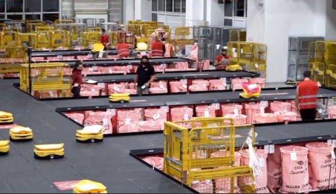 ΕΛΤΑ: Εισάγουν ρομποτικό σύστημα αυτόματης διαλογής