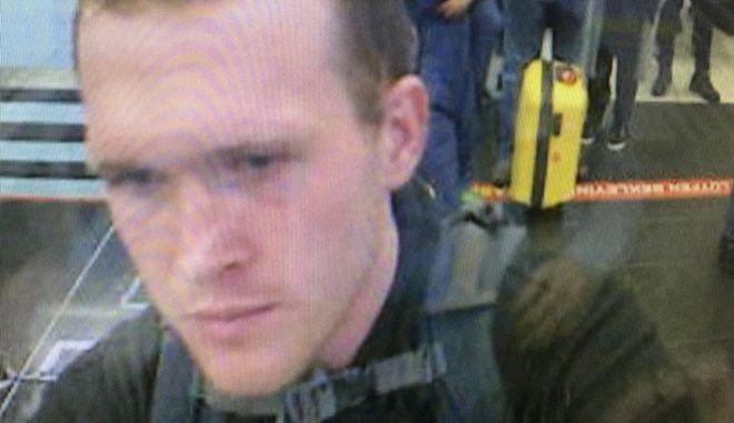 O 28χρονος Αυστραλός δράστης του μακελειού στη Νέα Ζηλανδία Μπρέντον Ταράντ