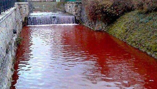 Έρευνες για το ματωμένο ποτάμι