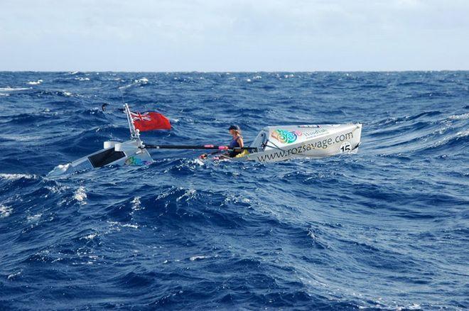 #PowerOfChoice: H Roz Savage διασχίζει με το κανό της ωκεανούς για φιλανθρωπικούς σκοπούς