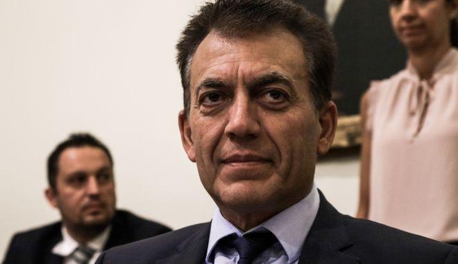 Ο υπουργός Εργασίας Γιάννης Βρούτσης.
