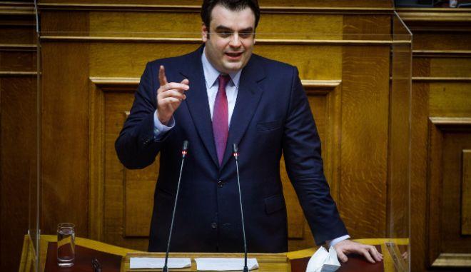 """Πιερρακάκης:""""Με τη συμμετοχή των πολιτών μπορούμε να φτιάξουμε ένα επαρκές τείχος ανοσίας"""""""