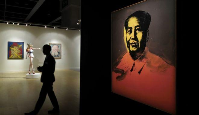 Πορτρέτο του Μάο από τον Άντι Γουόρχολ πουλήθηκε για 12,6 εκατ. δολάρια