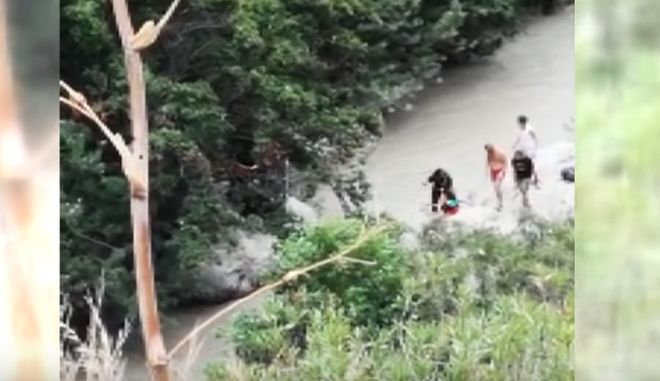 Νεκροί οκτώ εκδρομείς που παρασύρθηκαν από χείμαρρο σε εθνικό πάρκο