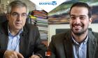 DEBATE στο NEWS 247: Γαβριήλ Σακελλαρίδης VS Μιχάλης Καρχιμάκης