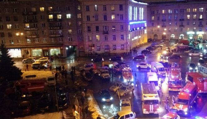Ρωσία: Τουλάχιστον 10 τραυματίες από έκρηξη σε σούπερ μάρκετ στην Αγία Πετρούπολη