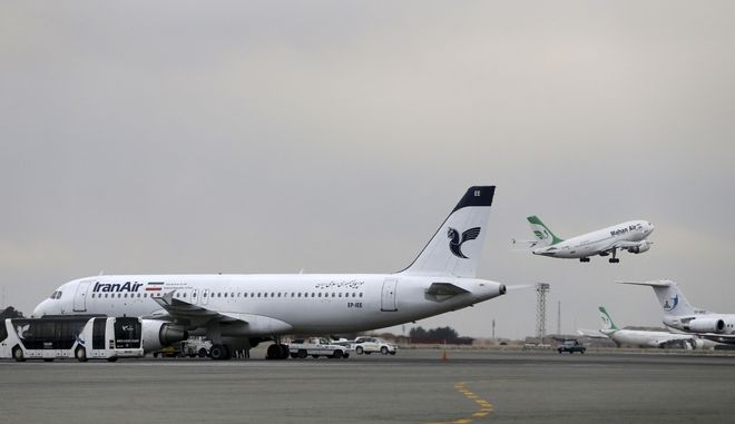 Στιγμιότυπο από το αεροδρόμιο Μεχραμπάντ της Τεχεράνης