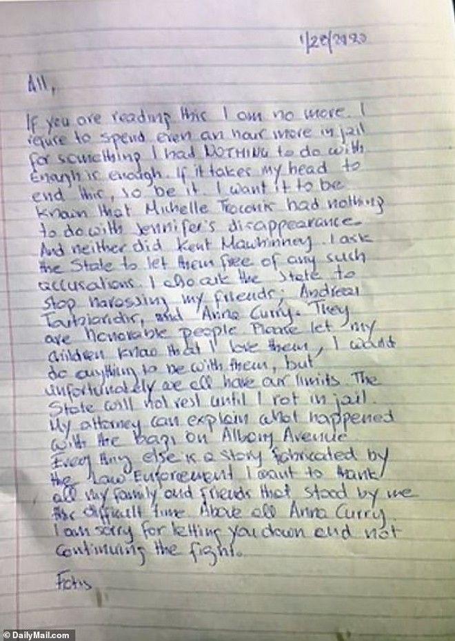 Φώτης Ντούλος: Διέρρευσε το σημείωμα της αυτοκτονίας του