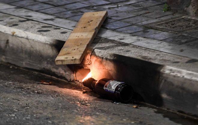 ΕΠΕΙΣΟΔΙΑ ΣΤΕπεισόδια στην Πάτρα για την επέτειο των 11 χρόνων από τη δολοφονία του Γρηγορόπουλου