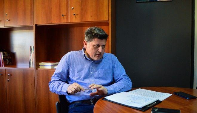 Ο καθηγητής Απόστολος Παπαδόπουλος