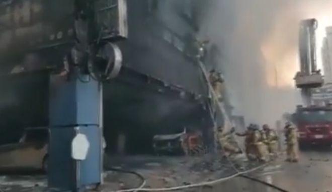 'Κόλαση' σε σάουνα: Τουλάχιστον 16 νεκροί από πυρκαγιά στη Νότια Κορέα