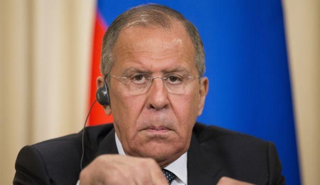 Ο Ρώσος ΥΠΕΞ Σεργκέι Λαβρόφ