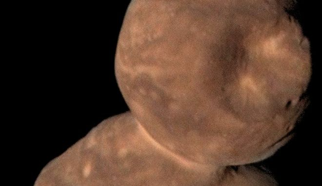 "H NASA αποκαλύπτει τον μακρινό ""χιονάνθρωπο"" Άροκοθ"